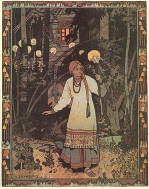 Vasilisa the Beautiful by Ivan Bilibin